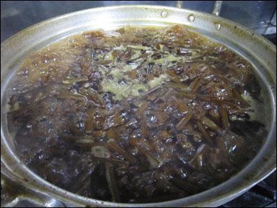 栗の渋皮煮ー2