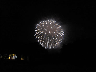 猿ヶ京湖上花火