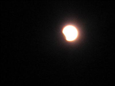 皆既月食ー2