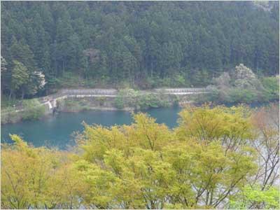 まんてん星からの赤谷湖