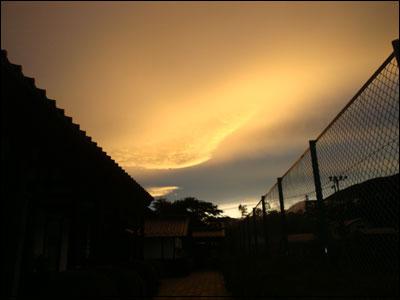 雨上がりの夕空?2