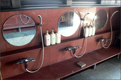 蔵の湯洗い場