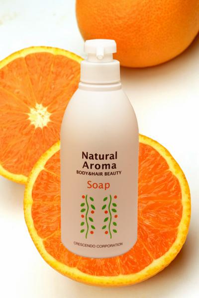 ナチュラルアロマソープ オレンジ