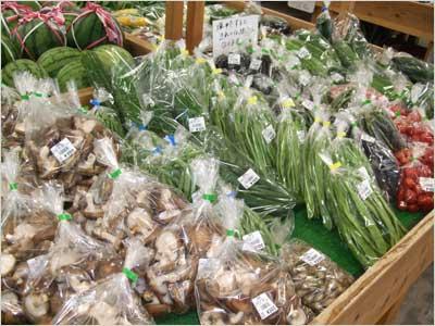豊楽館の野菜
