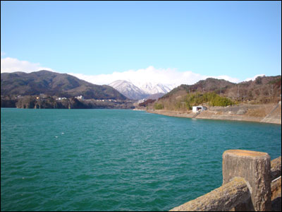 今日の赤谷湖