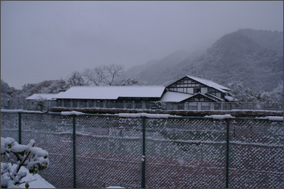 冬の万葉亭