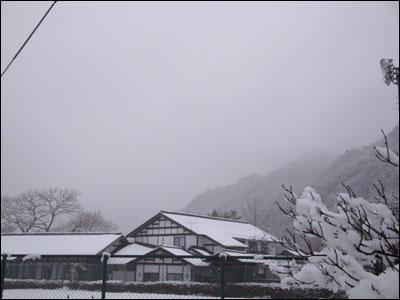 万葉亭冬景色