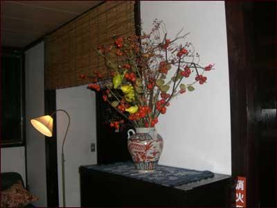 万葉亭のお花