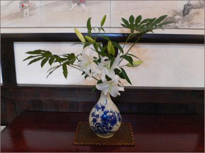 戸部焼きの花瓶
