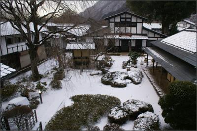 丸一の雪景色