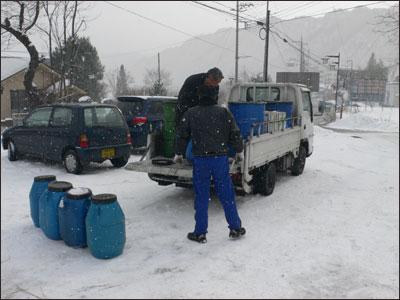 廃食油のリサイクル