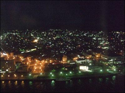 新潟市内の夜景