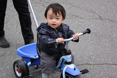 プーキーの三輪車