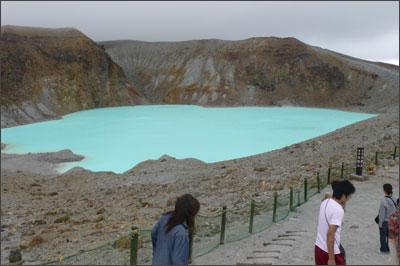 草津 白根火山