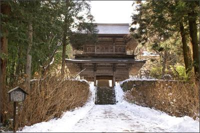 泰寧寺の山門