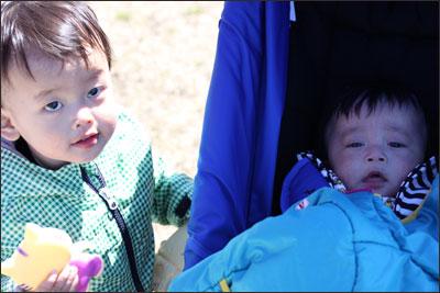 息子と従弟
