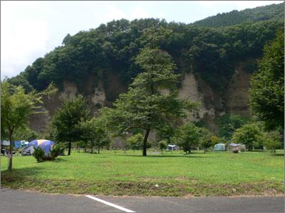 湯島のオートキャンプ場