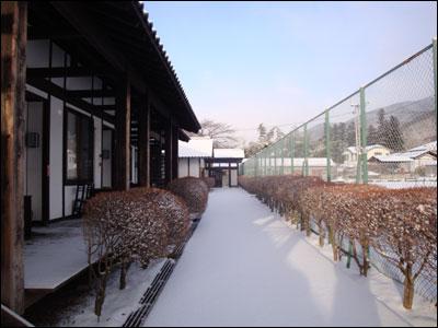 雪のじゅうたん