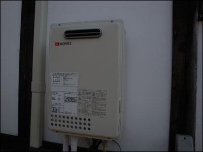 湯沸かし器 設置
